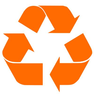 400x400 Recycle Orange