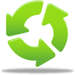 256x256 Recycling Logo Icon Download Free Icons