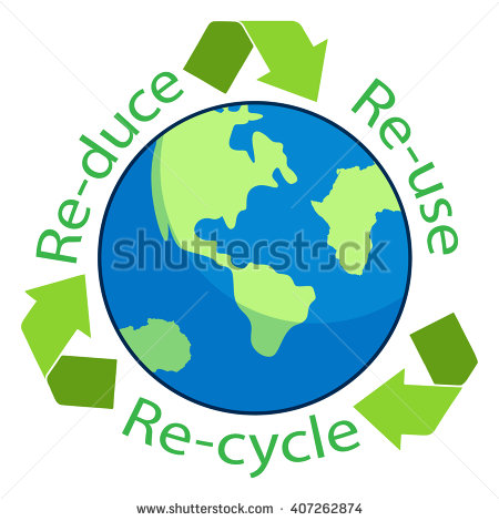 450x470 Reuse Recycle Earth Clipart