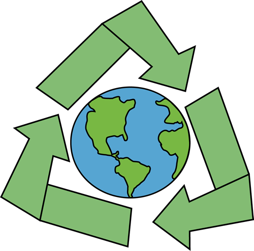 500x493 Clipart Recycle