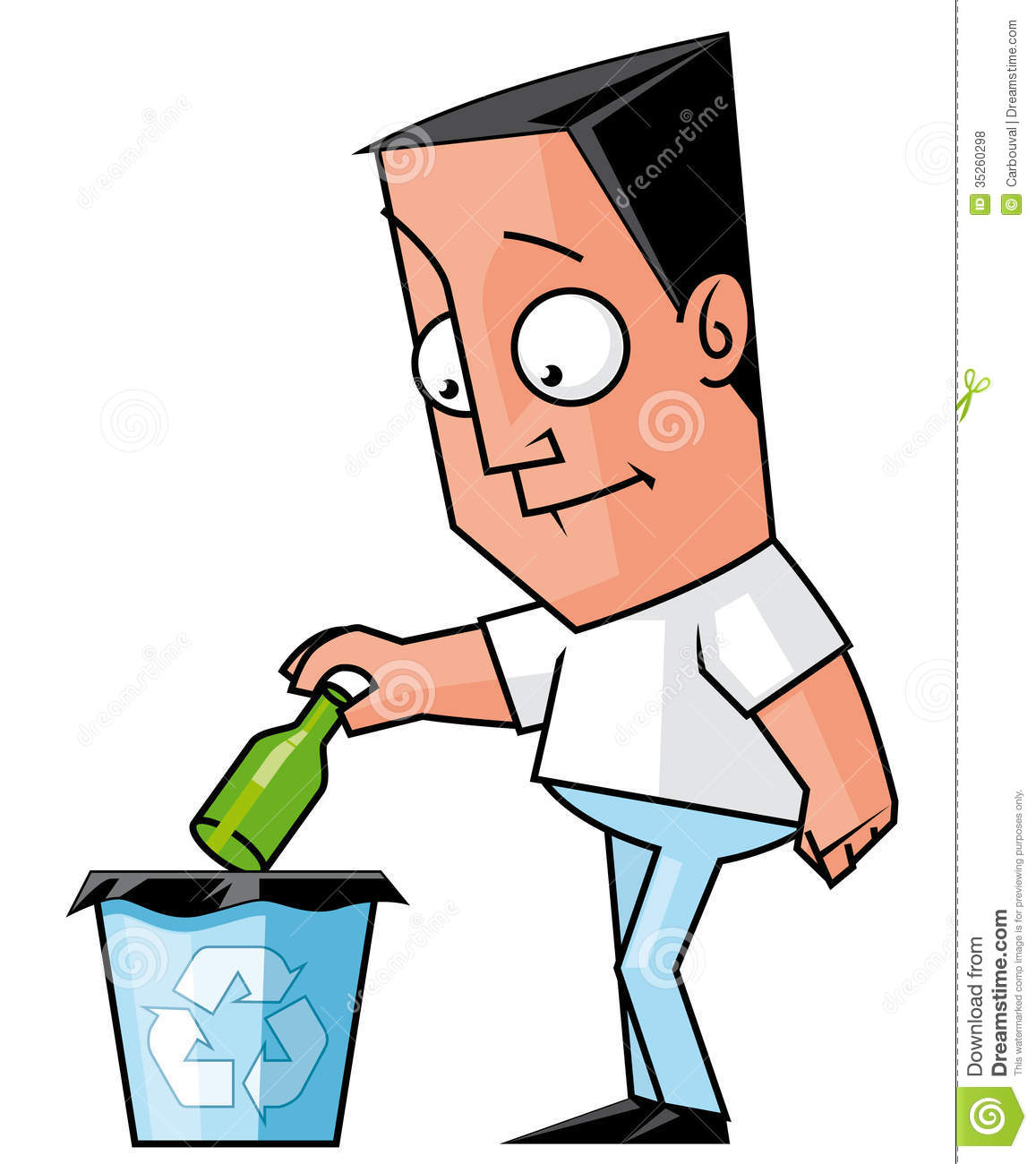 1157x1300 Man Clipart Recycling