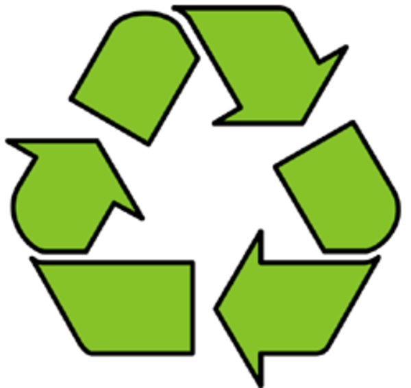 600x566 Recycling Logo Free Images