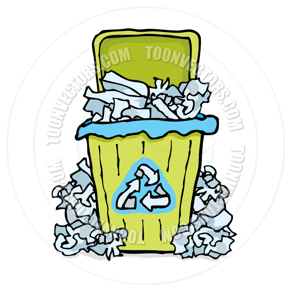 940x940 Trash Clipart Paper Recycling