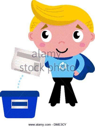 403x540 Cartoon Boy Recycling Stock Photos Amp Cartoon Boy Recycling Stock