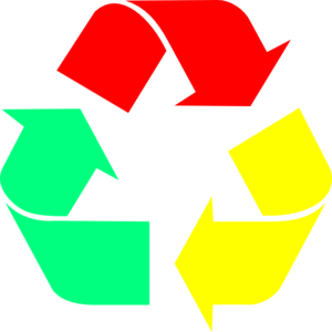 300x300 Recycle Chrome Logo Clip Art