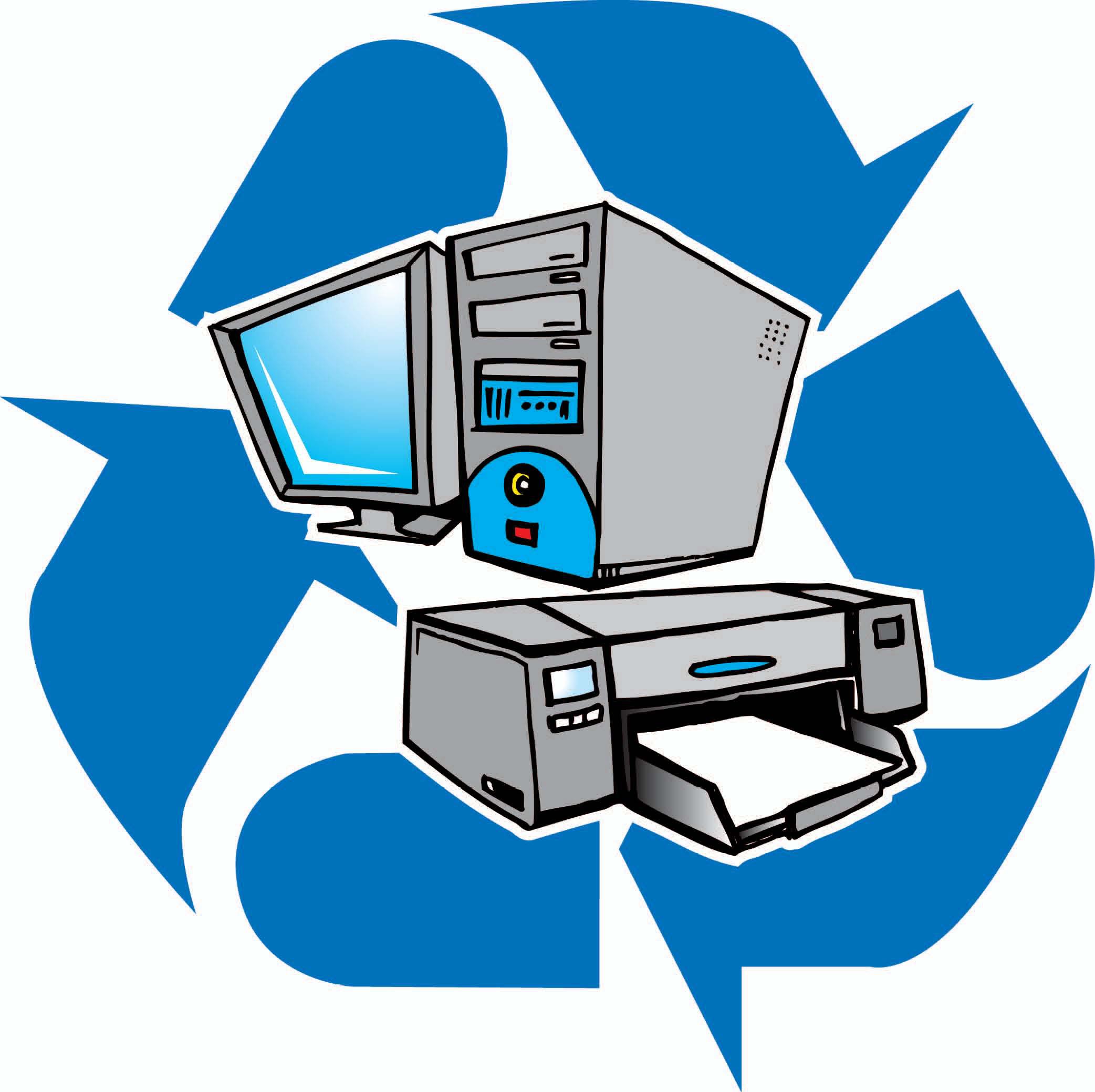 2085x2079 Computer Electronics Recycling Clip Art Cliparts