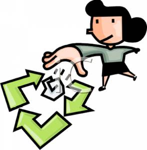 294x300 Paper Recycle Clip Art Cliparts