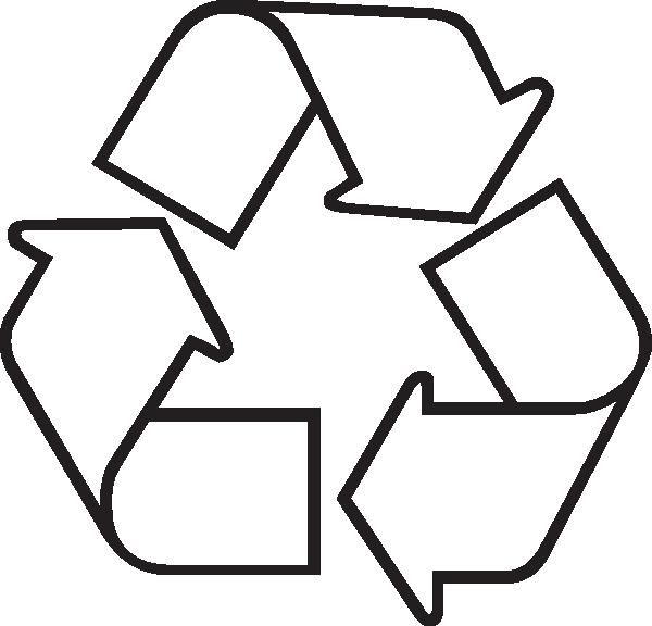 600x576 Recycle Symbol Clip Art