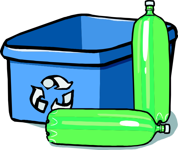 600x507 Recycling Bin And Bottles Clip Art Free Vector 4vector