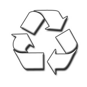 300x300 Clipart Picture Of A Recycling Sign
