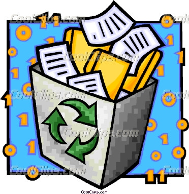 372x383 Recycle Paper Clipart