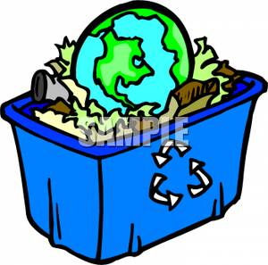 300x297 It Recycling Can Clip Art Cliparts