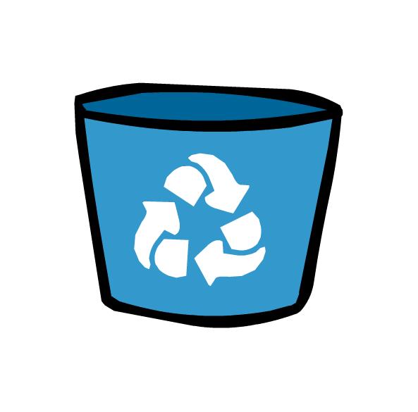 593x585 Recycle Bin
