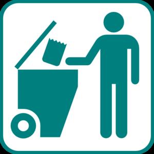 300x300 Recycling Bin Icon Clip Art