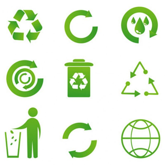 626x626 Free recycle icon logo clipart
