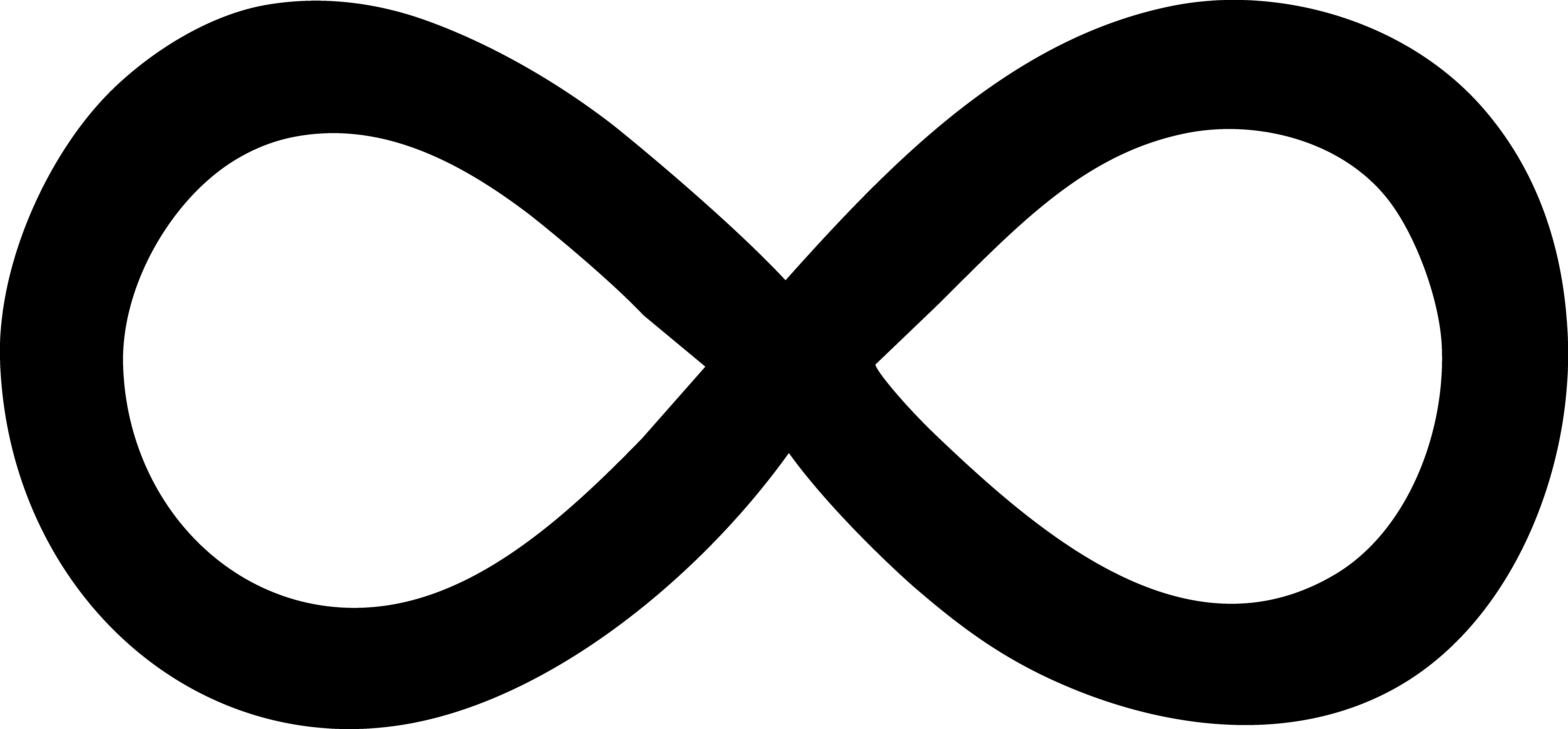 9903x4605 Infinity Symbol Clip Art