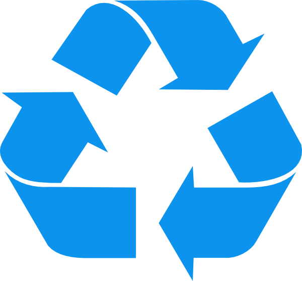 600x557 Recycle Symbol Clip Art