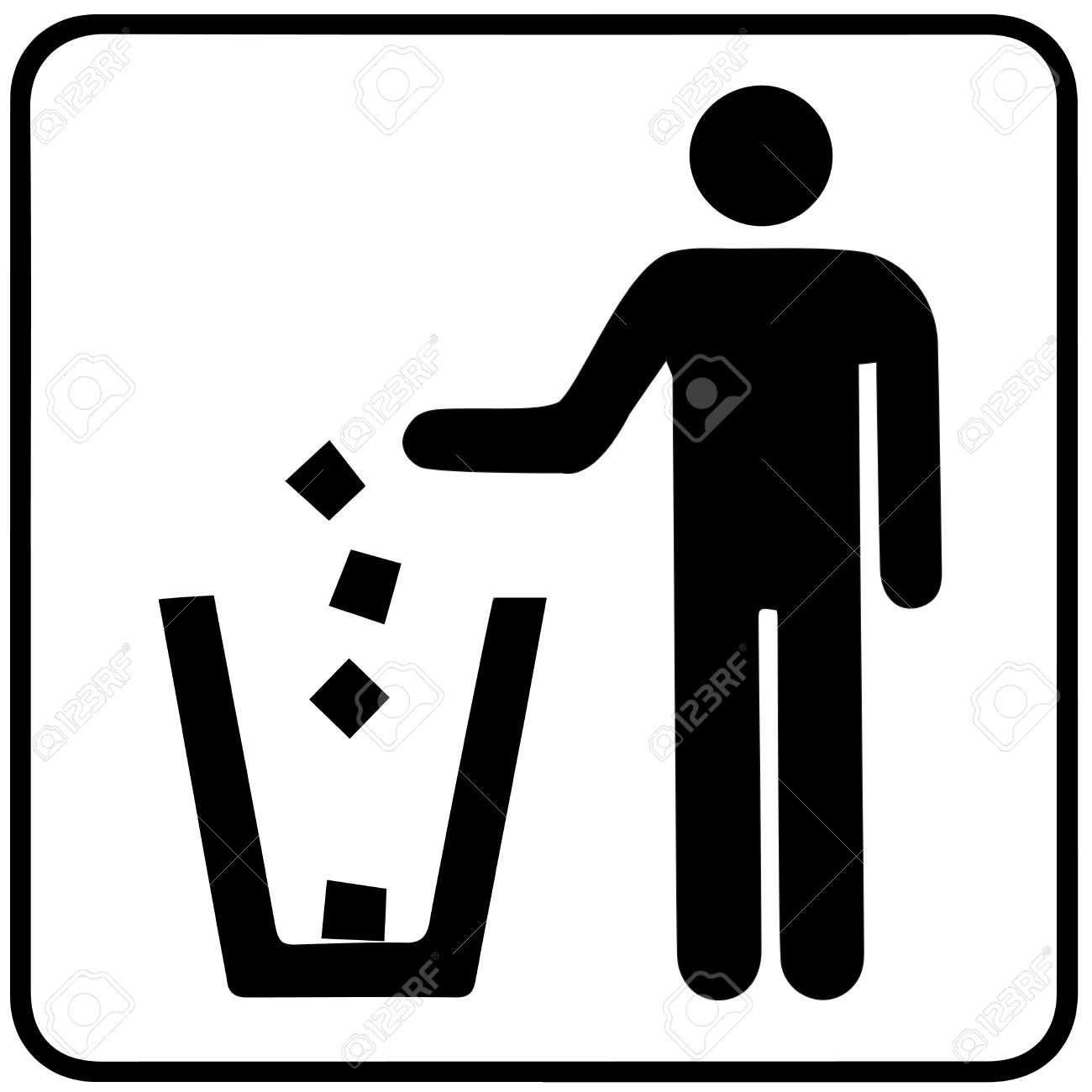 1300x1300 Garbage Recycling Symbol Royalty Free Cliparts, Vectors, And Stock