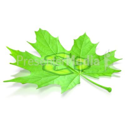 400x400 Leaf Recycle Symbol