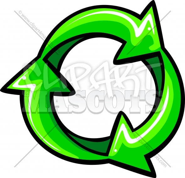 590x568 Recycle Logo Vector Graphic Vector Clipart Image