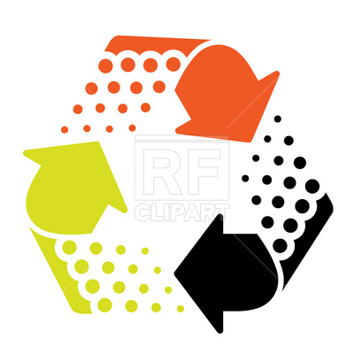400x400 Recycling Symbol Icon Royalty Free Vector Clip Art Image