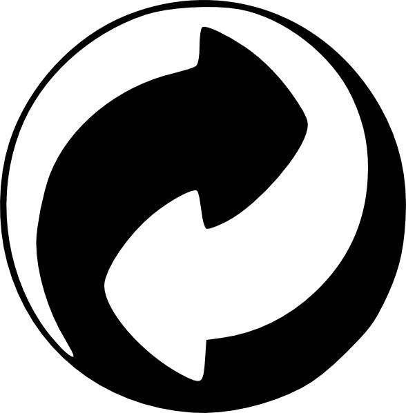 588x599 Clip Art Recycle Symbol Clipart Kid