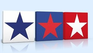 Red And Blue Star