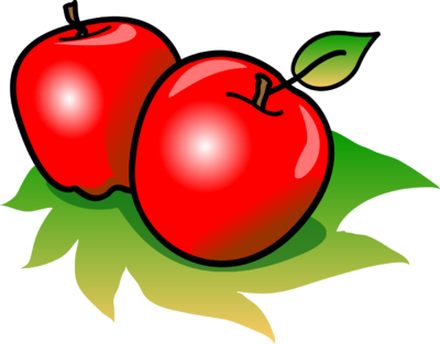 400x313 Image Apples Food Clip Art