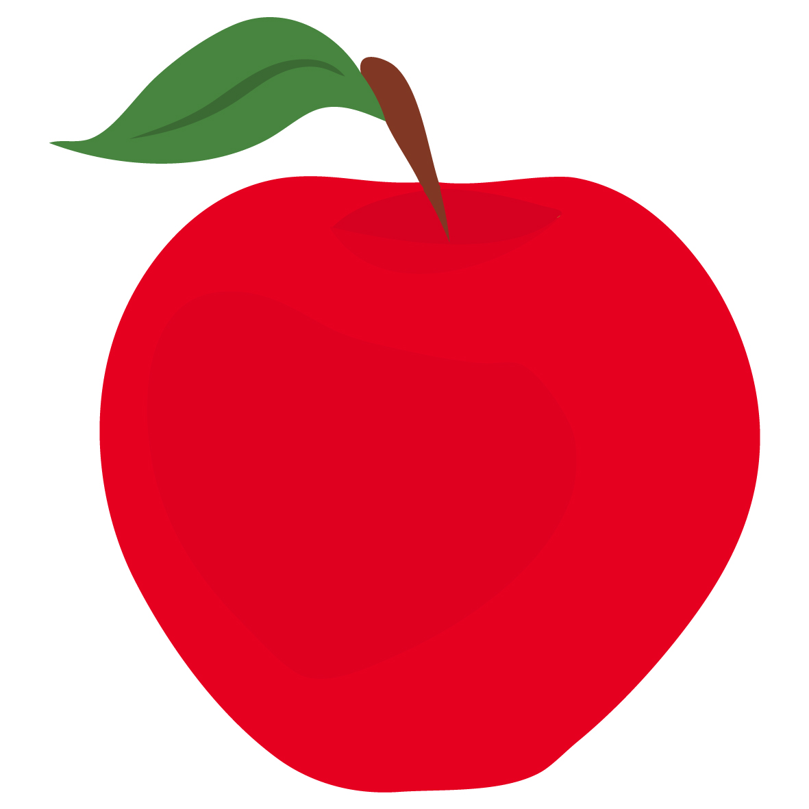 1181x1181 Red Apple Clip Art