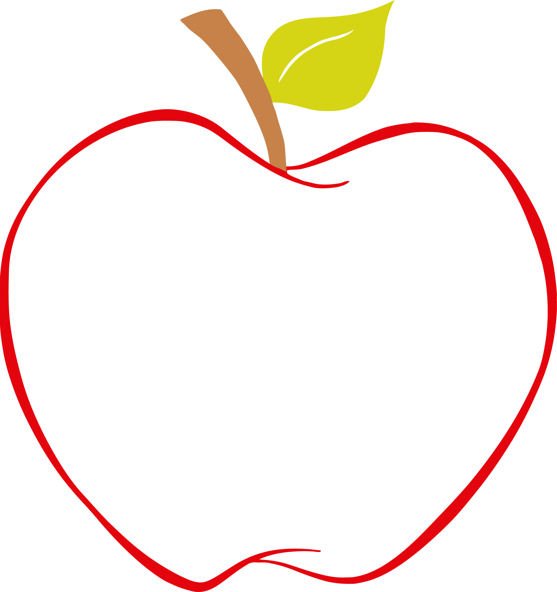 1824x1938 Best Apple Clipart