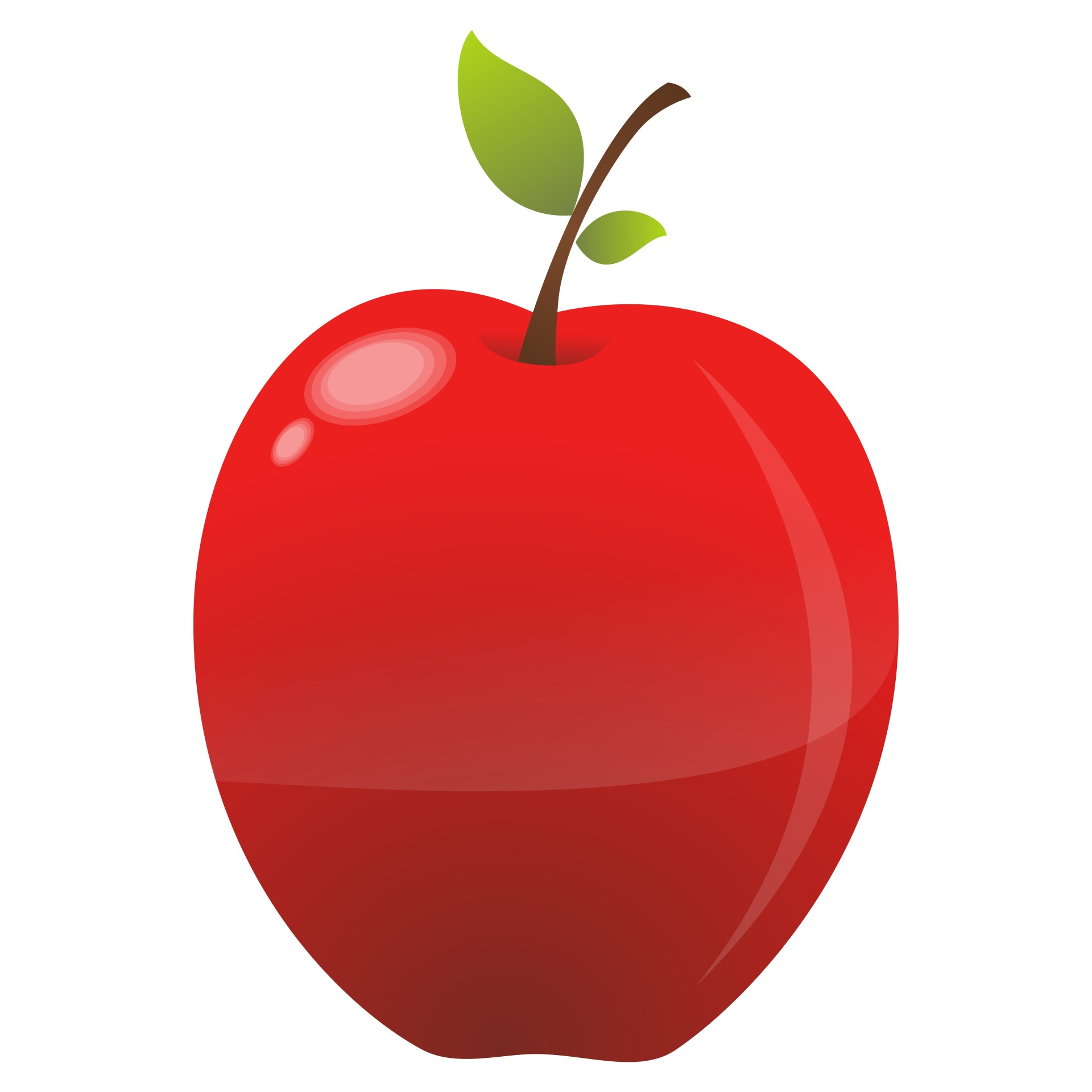 1920x1920 Red Apple Free Stock Photo