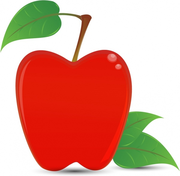 600x588 Stack Of Book And Red Apple Free Vector In Adobe Illustrator Ai