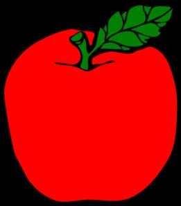 261x297 Red Apple Clip Art