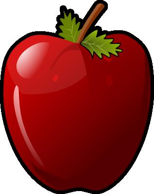 317x398 Apple Clip Art Free