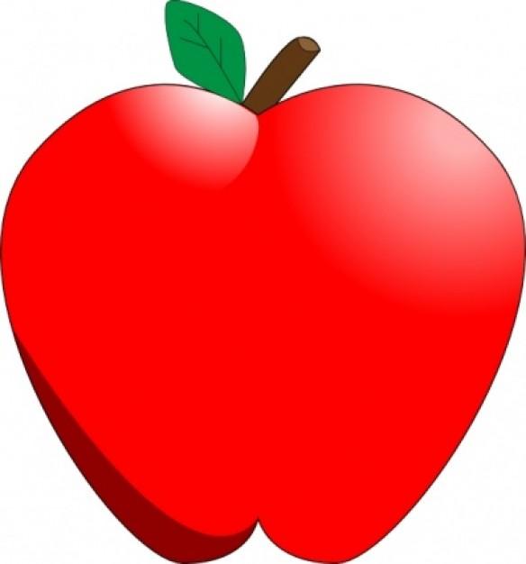 584x626 Apple Clipart Apples Clip Art