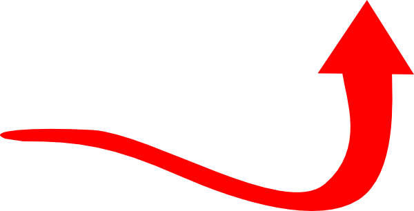 600x306 Red Arrow Curve Clip Art