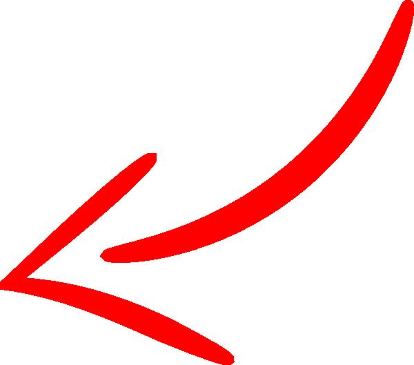 600x529 Red Arrow Left Clip Art