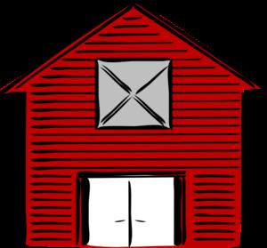 300x279 New Barn Clip Art