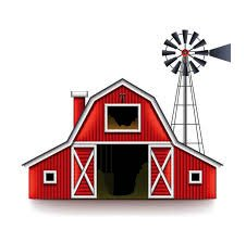 226x223 Red Barn (Amazing Barn Images Clip Art
