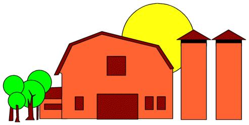 493x248 Red Barn Clip Art Clipart