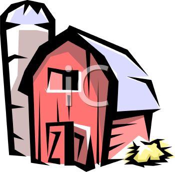 350x344 Rustic Barn And Grain Silo