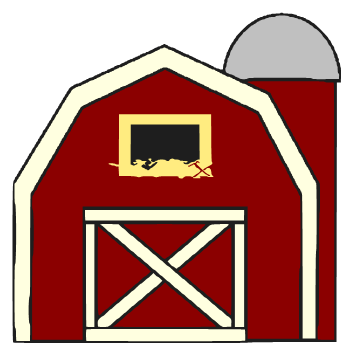 352x354 Top 75 Barn Clip Art