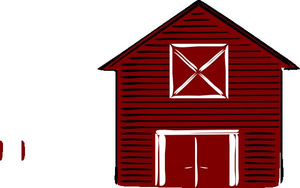 600x377 Traditional Barn Clip Art