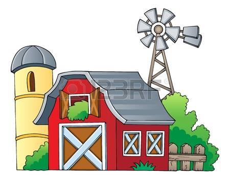 450x351 Windmill Clipart Barn