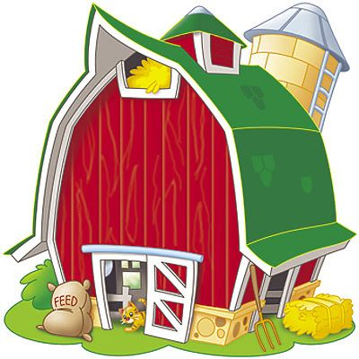 400x400 Barn Clipart Party