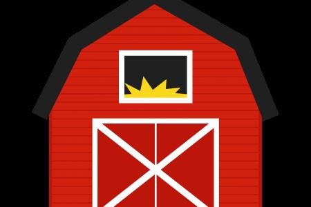 450x300 Barn Clipart Outline