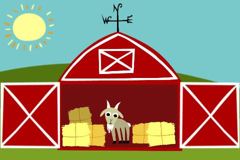 480x320 Barn Clipart Simple