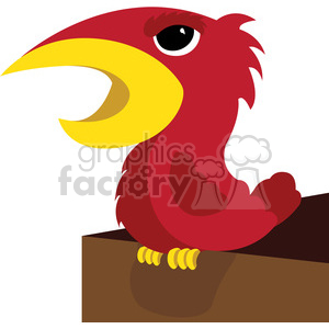 Red Bird Clipart