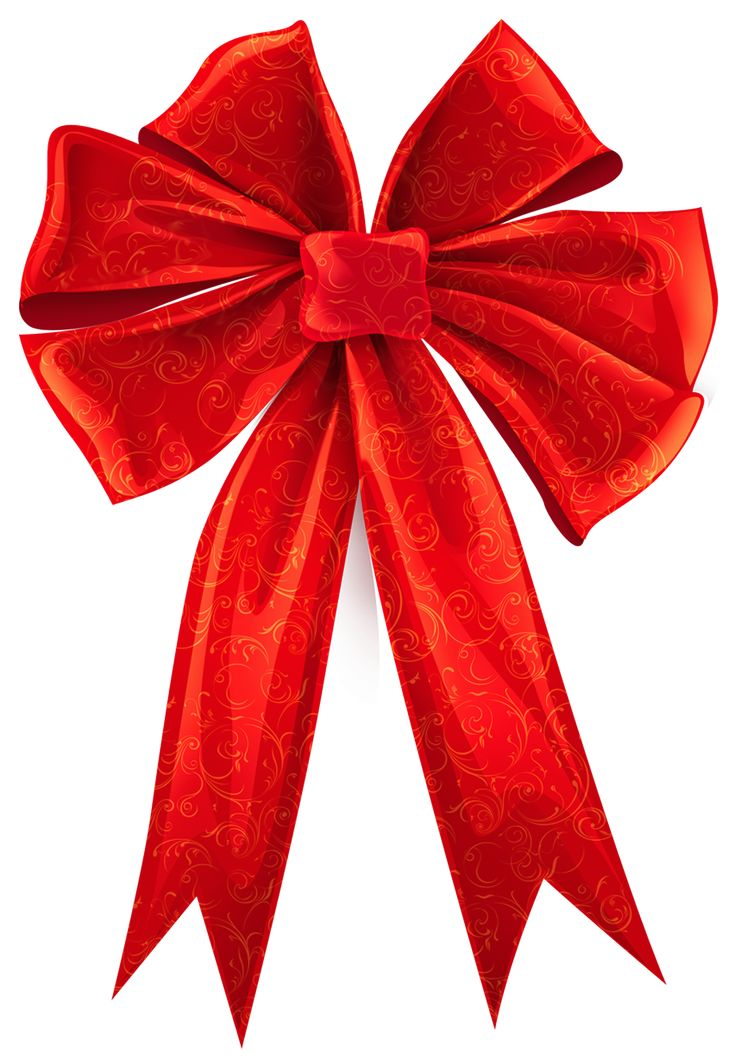 Red Bow Images Clipart