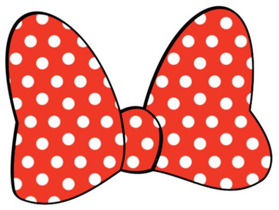 564x426 Minnie Mouse Bow Clip Art
